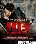 Mission Impossible Quadrilogy (5-Disc Set)