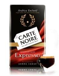 - 2 Packs Carte Noire Espresso Ground Coffee 8.8oz/250g
