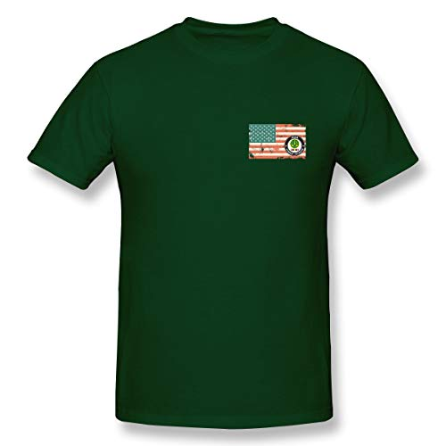 - 3rd Armored Cavalry Regiment US Flag Short Sleeve Military Training Uniforms-T-Shirts