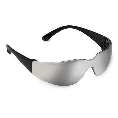Safety Glasses - Bulldog Blackframe,Silver Mirrored by Cordova