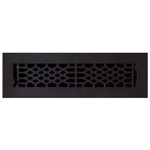 (Signature Hardware 203333 Antique Cast Iron Floor Register - 2-1/4