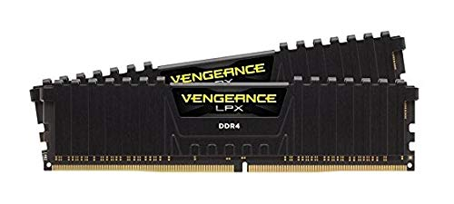 Corsair Vengeance LPX 2-Pack 8GB DDR4 DRAM Desktop Memory Kit Black CMK16GX4M2A2666C16