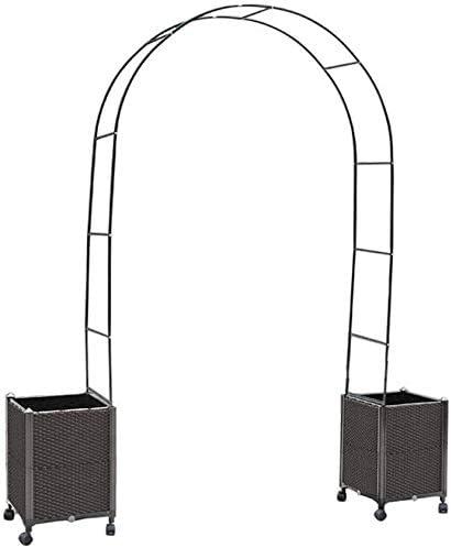 HLZY Muebles de jardín Arco Decoración jardín del Metal del ...
