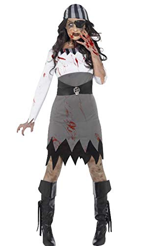 Seipe Halloween Zombie Costume Female Apparel Role-Playing Habiliment -