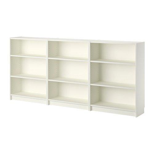 Ikea BILLY Bookcase, white 2202.52326.1026