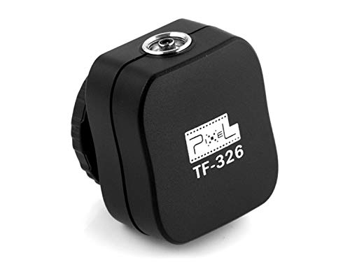 - Hot Shoe for Canon,Pixel TF-326 hot Shoe Adapter for Studio Flashes with PC sync Socket for Canon.
