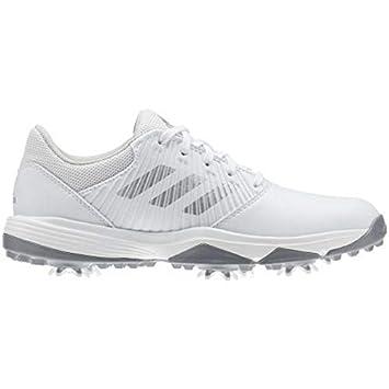 meilleur authentique 72321 06358 adidas Junior CP Traxion Chaussures de Golf Juniors Blanc ...