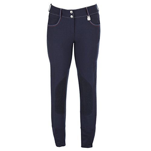 Huntley Equestrian Ladies Navy Riding Pants, 30