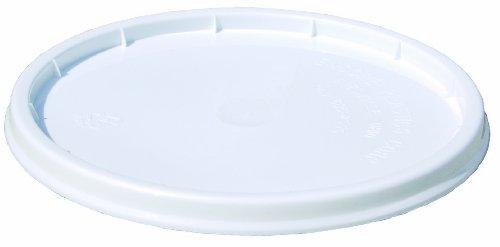 0 Industrial Plastic Pail Pry-Off Lid, 1-Gallon ()