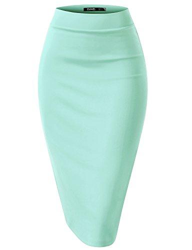Houndstooth Mini Skirt - 9