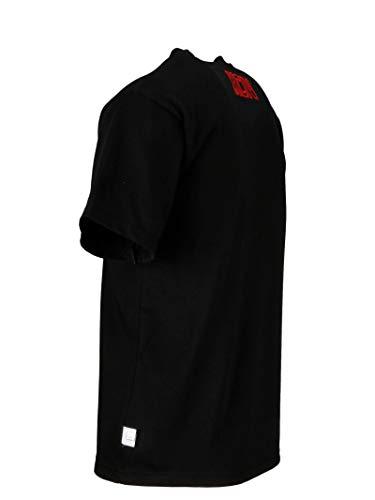 Gcds T Cc94u02002802 shirt Noir Homme Coton qR6rqFO