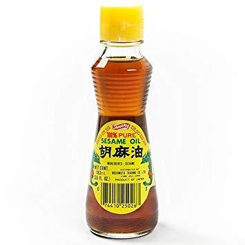 Shirakiku 100% Pure Sesame Oil - 6.25 oz (6.25 ounce)