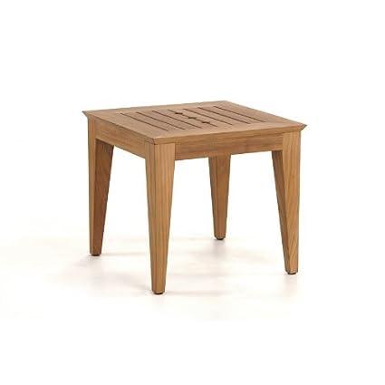 Amazon.com: Craftsman teca mesa auxiliar: Jardín y Exteriores