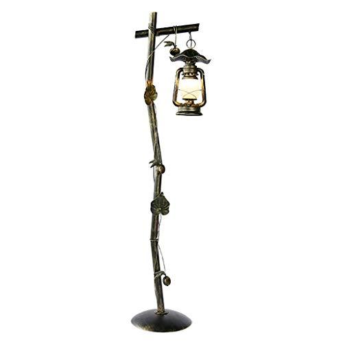 Home, Novelty Floor Light-Floor Lamp Country Retro Lanterns Old Decorative Lights Floor ()