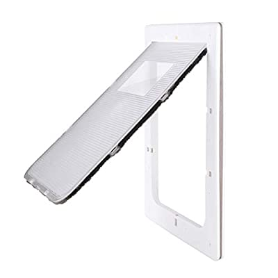 Petouch Pet Door?Door for Dog and Cat, Low-Maintenance, Extreme Weather Energy Efficient Pet Door
