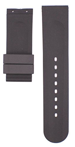 212ZTD 22mm Black Rubber U-Boat fit for U 1001 Replacement Watch Band Strap Free Spring BAR Tool - Watches Uboat