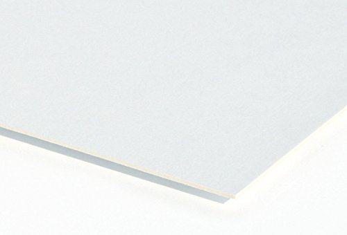 Crescent Medium Weight Hot Press Illustration Board, 18-Ply, 30 x 40 in, Case of 10 by Crescent