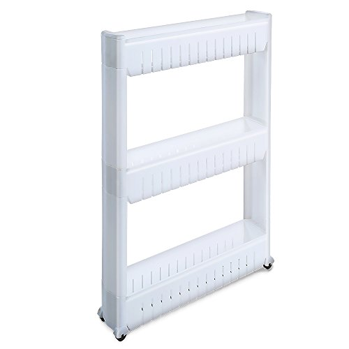 1208S Storage Cabinet Organizer Rolling Pull Out Cart Rac...