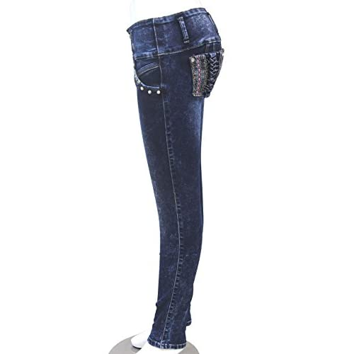 50%OFF ZARINA®Denim Pantalones 1e54bce95805