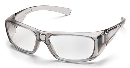 PYRAMEX SG7910D15 Pyramex Clear Safety Reader Glasses, Scratch-Resistant