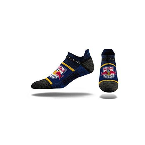 Strideline MLS New York Red Bulls Premium Athletic Ankle Socks, Navy, One Size