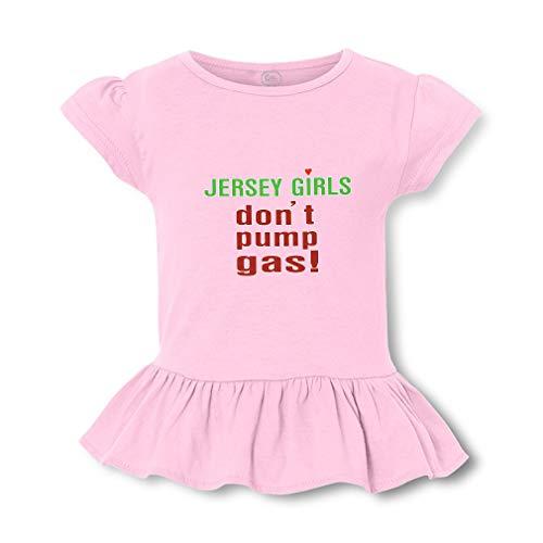 Sps Pump (Jersey Girls Don't Pump Gas! Short Sleeve Toddler Cotton Girly T-Shirt Tee - Soft Pink, Small)