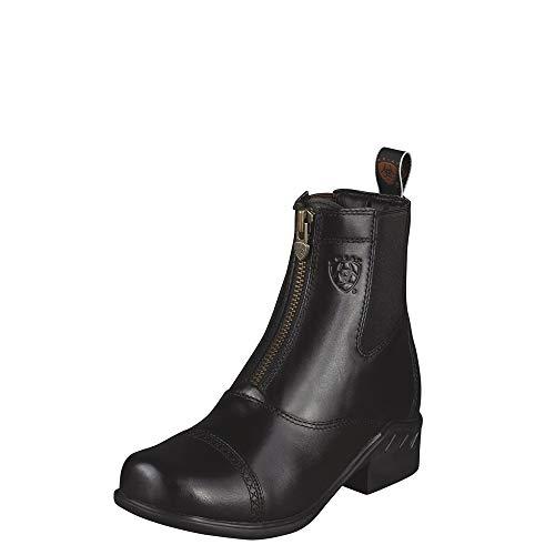 ARIAT Women's Heritage Rt Zip Paddock Boot Black Size 7.5 B/Medium Us