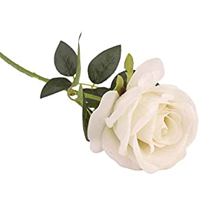 Elibone Real-Like PU Tulip Artificial Flower Latex Real Touch Bridal Wedding Bouquet Beautiful Vase Home Decor Wedding Bouquet 40