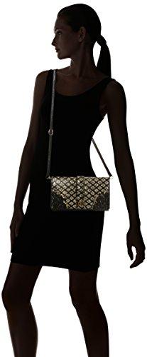 Irregular Choice Amelia Clutch - Carteras de mano Mujer Negro (Black/gold)