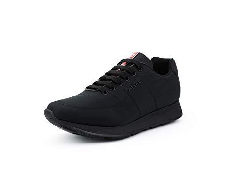 (Prada Men's Nylon Piuma Trainer Sneakers, Nero (Black) 4E3355 (13 US / 12 UK) )