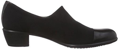 Ecco TOUCH 35 Damen Halbschuhe Schwarz (BLACK/BLACK 51052)