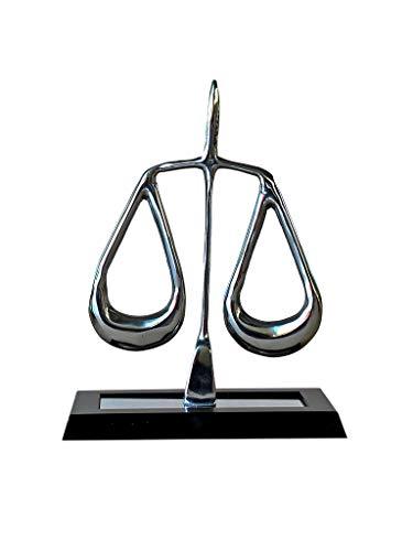 Escultura De Mesa Direito Escritório Advocacia Sarquis Samara Preto
