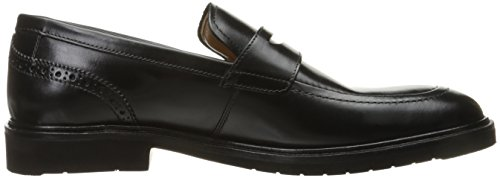 Florsheim Men's Hamilton Slip-On Penny Loafer, Black, 10.5 3E US