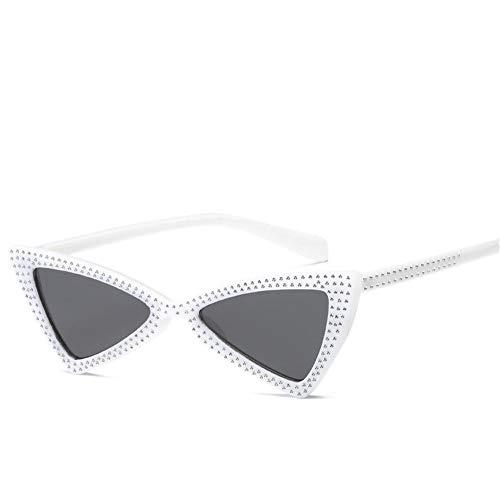 de oeil soleil soleil lunettes chat de NIFG Triangle lunettes et B européennes de américaines personnalité 7wOqxSTS