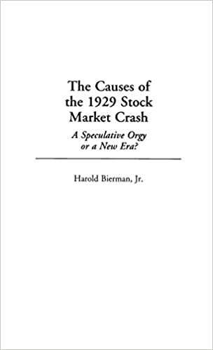 why did the stock market crash in 1929
