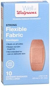 Amazon Com Walgreens Strong Strips Bandages 10 Ea Health Personal Care