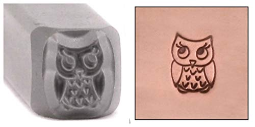 Owl Metal Design Stamp, 5.5mm Baby Bird Wildlife Forest Animal Punch Stamping Tool for Hand Stamped DIY Jewelry Crafts - Beaducation Original Metal Design Stamps