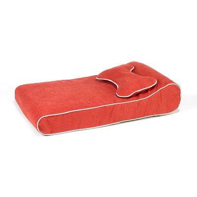 Contour Lounger Dog Pillow Color: Watermelon