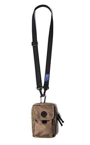 Mini Nylon Belt - Mini Cell Phone Bag Holster Nylon Crossbody Bags Purses Wallet Multifunction Outdoor Climbing Hiking Travel Pouch Belt Waist Pack Removable Strap For Men & Women (Khaki)
