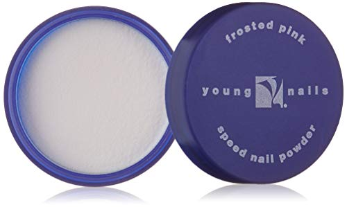 - YOUNG NAILS Acrylic Core Powder, Frost Pink, 45 g.