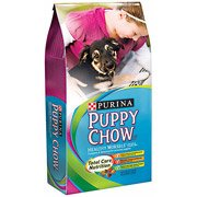 Puppy Chow Healthy Morsels with Soft and Crunchy Bites Puppy Food, 32 lbs(Pack of 2)