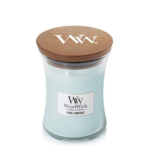 WoodWick Candle, Medium, Pure Comfort