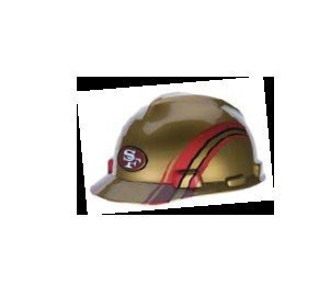 MSA 818409 NFL V-Gard Protective Cap, San Francisco 49ers 1