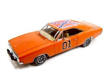 Ertl 1969 Dodge Charger General Lee 1:18 Diecast Authentic