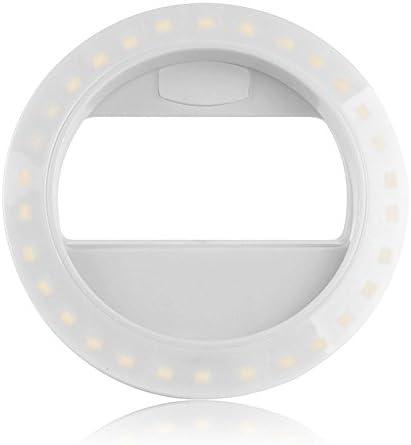 Sunsbell Recargable de 30 LED Smartphone Selfie Anillo de luz ...
