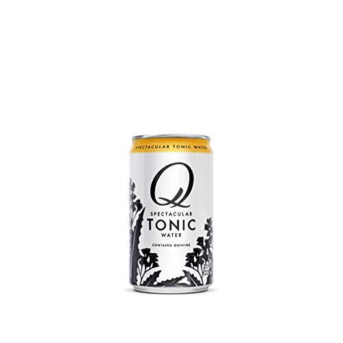 Q Mixers, Q Tonic Spectacular Tonic Water, Premium Mixer, 7.5 Fl Oz (12 Cans)