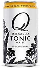 Q Mixers Tonic Water, Premium Cocktail Mixer, 7.5 oz (12 Cans)