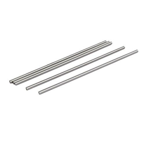 5mm Rod (uxcell 5mm Dia 200mm Length HSS Round Shaft Rod Bar Lathe Tools Gray 5pcs)