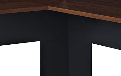 Altra The Works L Shaped Desk Cherry Slate Gray