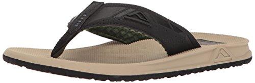 (Reef Men's Phantoms Sandal, Sand Olive Black, 9 M US)